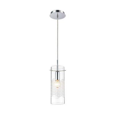 Светильник Colosseo 60702/1AОдиночные<br>Подвесной светильник Colosseo 60702/1A от итальянских производителей – это правильный выбор в пользу лаконичности и многофункциональности! Вы точно получаете изделие с возможностью регулирования конструкции по высоте. Согласитесь, это очень удобно для формирования дизайна в помещениях различных размеров. Также Вы сделаете выбор в пользу лаконичного итальянского стиля, в котором гармонично сочетаются правильная геометрия, универсальные цветовые решения, аккуратные узоры и утончённые силуэты. Всё это присуще светильнику Colosseo 60702/1A. Только посмотрите на цилиндрический прозрачный плафон с лёгким волнообразным узором. Это прекрасная стилизация Вашего пространства!<br><br>S освещ. до, м2: 2<br>Крепление: планка<br>Тип лампы: накал-я - энергосбер-я<br>Тип цоколя: E14<br>Количество ламп: 1<br>MAX мощность ламп, Вт: 60<br>Диаметр, мм мм: 140<br>Высота, мм: 500-1200<br>Цвет арматуры: серебристый хром