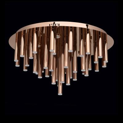 Regenbogen Фленсбург 609012445 ЛюстраПотолочные<br><br><br>Установка на натяжной потолок: Да<br>S освещ. до, м2: 18<br>Тип лампы: LED<br>Тип цоколя: LED<br>Количество ламп: 41<br>MAX мощность ламп, Вт: 4<br>Диаметр, мм мм: 600<br>Высота, мм: 330