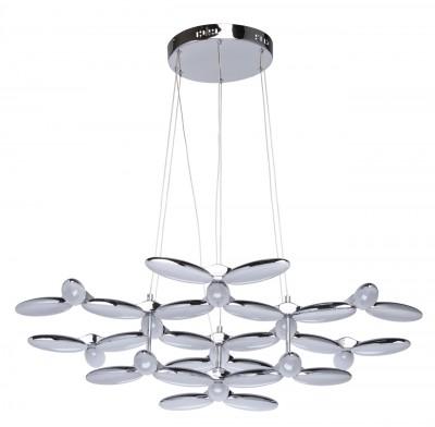 Светильник Regenbogen 609012933Подвесные<br><br><br>Тип лампы: LED<br>Тип цоколя: LED<br>Цвет арматуры: серебристый<br>Диаметр, мм мм: 1000<br>Высота, мм: 1900<br>MAX мощность ламп, Вт: 100
