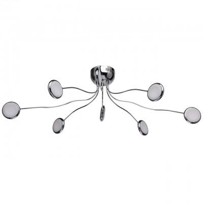 609013408 Regenbogen Life СветильникПотолочные<br><br><br>Установка на натяжной потолок: Да<br>S освещ. до, м2: 9<br>Тип лампы: LED<br>Тип цоколя: LED<br>Ширина, мм: 750<br>Длина, мм: 1050<br>Высота, мм: 300