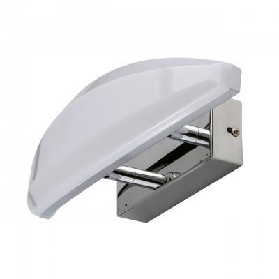 Mw light 609023301 БраХай-тек<br><br><br>Тип лампы: LED<br>Тип цоколя: LED<br>Цвет арматуры: серебристый<br>Ширина, мм: 310<br>Длина, мм: 90<br>Высота, мм: 130<br>MAX мощность ламп, Вт: 9
