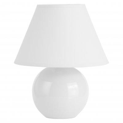 Светильник настольный Brilliant 61047/05 PrimoБелые<br>Настольная лампа – это не просто источник дополнительного освещения, но и оригинальный элемент декора. Его можно установить в спальне, гостиной, кабинете и других комнатах. Интернет-магазин «Светодом» предлагает настольные лампы разных стилей по доступным ценам. Благодаря большому ассортименту Вы обязательно найдете в нашем каталоге именно ту модель, которую искали.   Настольная лампа Brilliant 61047/05 – прекрасный вариант для завершения интерьера. Ее можно включить одновременно с люстрой для более яркого освещения или без нее для создания уютной атмосферы, настраивающей на отдых.   Купить настольную лампу Brilliant 61047/05 Вы можете с помощью виртуальной «Корзины» или по контактным номерам, указанным на сайте.<br><br>S освещ. до, м2: 2<br>Тип лампы: накал-я - энергосбер-я<br>Тип цоколя: E14<br>Цвет арматуры: белый<br>Количество ламп: 1<br>Диаметр, мм мм: 200<br>Высота, мм: 230<br>MAX мощность ламп, Вт: 40