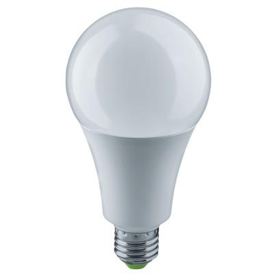 Лампа Navigator 61 282 NLL-A70-20-230-4K-E27Лампа e27<br><br><br>Цветовая t, К: 4000<br>Тип лампы: LED<br>Тип цоколя: E27<br>Диаметр, мм мм: 70<br>Высота, мм: 148<br>MAX мощность ламп, Вт: 20