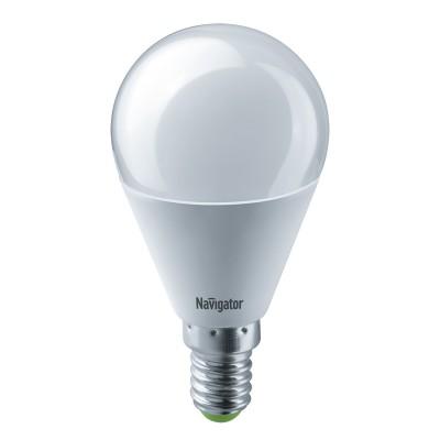 Лампа Navigator 61 334 NLL-G45-8.5-230-4K-E14Лампа e14<br><br><br>Цветовая t, К: 4000<br>Тип лампы: LED<br>Тип цоколя: E14<br>Диаметр, мм мм: 47<br>Высота, мм: 90<br>MAX мощность ламп, Вт: 8.5