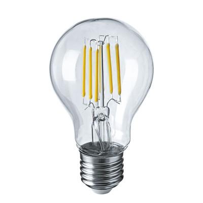 Лампа Navigator 61 344 NLL-F-A60-6-230-4K-E27Лампа e27<br><br><br>Цветовая t, К: 2700<br>Тип лампы: LED<br>Тип цоколя: E27<br>Диаметр, мм мм: 60<br>Высота, мм: 105<br>MAX мощность ламп, Вт: 6
