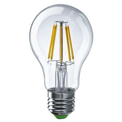 Лампа Navigator 61 345 NLL-F-A60-8-230-4K-E27Лампы с цоколем Е27<br><br><br>Цветовая t, К: 4000<br>Тип лампы: LED<br>Тип цоколя: E27<br>Диаметр, мм мм: 60<br>Высота, мм: 105<br>MAX мощность ламп, Вт: 8