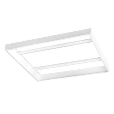 Eglo SALOBRENA 1 61358 Рама для накладного светильникаНакладные ЛПО<br>Рама для накладного светильника SALOBRENA 1, 603х603, сталь, белый применяется преимущественно в домашнем освещении с использованием стандартных выключателей и переключателей для сетей 220V.<br><br>Тип цоколя: -<br>Ширина, мм: 603<br>Длина, мм: 603<br>Высота, мм: 50<br>Цвет арматуры: белый