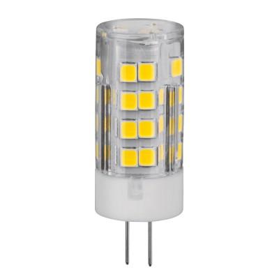 Лампа Navigator 61 483 NLL-P-G4-5-230-3KЛампы с цоколем g4<br><br><br>Цветовая t, К: 3000<br>Тип лампы: LED<br>Тип цоколя: G4<br>Диаметр, мм мм: 16<br>Высота, мм: 43<br>MAX мощность ламп, Вт: 5