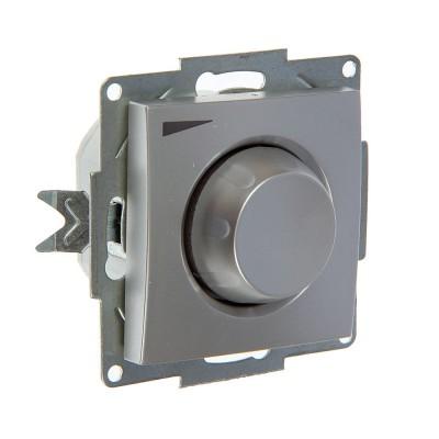 Купить ABB Cosmo Алюминий Диммер поворотный 800 Вт с подсв. (619-011000-192)
