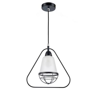 Светильник Colosseo optima 62402/1 матовый черныйодиночные подвесные светильники<br><br><br>Тип лампы: Накаливания / энергосбережения / светодиодная<br>Тип цоколя: E14<br>Цвет арматуры: черный<br>Количество ламп: 1<br>Ширина, мм: 130<br>Высота полная, мм: 1000<br>Длина, мм: 280<br>Поверхность арматуры: матовая<br>Оттенок (цвет): белый<br>MAX мощность ламп, Вт: 60