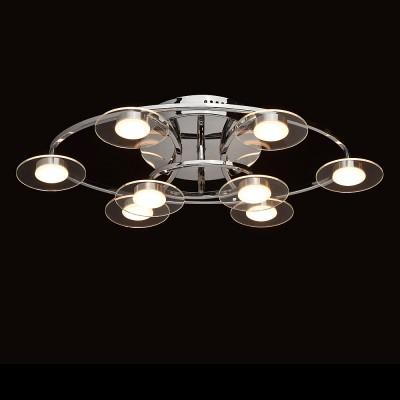 Mw light 632014708 СветильникПотолочные<br><br><br>Установка на натяжной потолок: Да<br>S освещ. до, м2: 10<br>Тип лампы: LED<br>Тип цоколя: LED<br>Количество ламп: 8<br>Ширина, мм: 400<br>Длина, мм: 640<br>Высота, мм: 150<br>MAX мощность ламп, Вт: 3