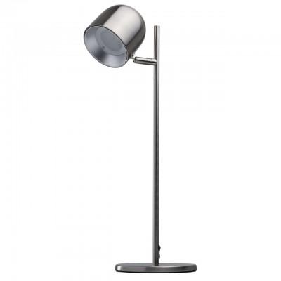Светильник Regenbogen 633030401Хай тек<br><br><br>Цветовая t, К: 3000<br>Тип лампы: LED<br>Тип цоколя: LED<br>Цвет арматуры: серебристый<br>Количество ламп: 1<br>Ширина, мм: 160<br>Длина, мм: 250<br>Высота, мм: 455<br>MAX мощность ламп, Вт: 5