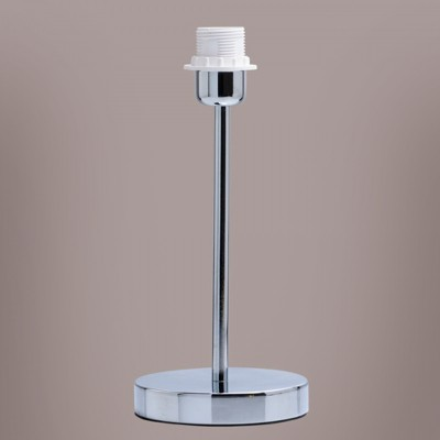 Светильник De markt 634030601Современные<br>Настольная лампа – это не просто источник дополнительного освещения, но и оригинальный элемент декора. Его можно установить в спальне, гостиной, кабинете и других комнатах. Интернет-магазин «Светодом» предлагает настольные лампы разных стилей по доступным ценам. Благодаря большому ассортименту Вы обязательно найдете в нашем каталоге именно ту модель, которую искали.   Настольная лампа De Markt 634030601 – прекрасный вариант для завершения интерьера. Ее можно включить одновременно с люстрой для более яркого освещения или без нее для создания уютной атмосферы, настраивающей на отдых.   Купить настольную лампу De Markt 634030601 Вы можете с помощью виртуальной «Корзины» или по контактным номерам, указанным на сайте.<br><br>Тип лампы: Накаливания / энергосбережения / светодиодная<br>Тип цоколя: E27<br>Цвет арматуры: серебристый<br>Количество ламп: 1<br>Диаметр, мм мм: 130<br>Высота, мм: 300<br>MAX мощность ламп, Вт: 60