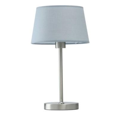 Светильник настольный Mw-light 634032301Классические настольные лампы<br>Строгая элегантность и минималистичная утонченность – качества, которые <br>всегда востребованы в современном интерьере, и именно они привлекают в <br>этом светильнике. Матовое основание и ножка лампы выполнены из металла <br>цвета никеля и дополнены аккуратным текстильным абажуром серого оттенка.<br> Отсутствие навязчивого декора, трендовая и, при этом, нейтральная <br>цветовая гамма, легкость и грация – главные достоинства модели.<br><br>S освещ. до, м2: 3<br>Тип лампы: Накаливания<br>Тип цоколя: E27<br>Цвет арматуры: серебристый хром<br>Количество ламп: 1<br>Диаметр, мм мм: 250<br>Высота полная, мм: 430<br>Высота, мм: 430<br>Поверхность арматуры: глянцевая<br>Оттенок (цвет): серый<br>MAX мощность ламп, Вт: 60<br>Общая мощность, Вт: 60