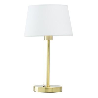 Светильник Mw-light 634032401Классические настольные лампы<br>Светильник выполнен в духе минимализма, но не лишен утонченной <br>элегантности и притягательности. Матовое металлическое основание и <br>изящная ножка драгоценного золотого оттенка выглядят солидно и <br>благородно, а венчающий их текстильный белый абажур заметно освежает <br>композицию. Модель идеально подойдет для зональной подсветки в <br>интерьерах с различным стилевым решением – от минимализма до ар-деко.<br><br>S освещ. до, м2: 3<br>Тип лампы: Накаливания<br>Цвет арматуры: золотой хром<br>Диаметр, мм мм: 250<br>Высота полная, мм: 430<br>Поверхность арматуры: глянцевая<br>Оттенок (цвет): белый<br>MAX мощность ламп, Вт: 60<br>Общая мощность, Вт: 60