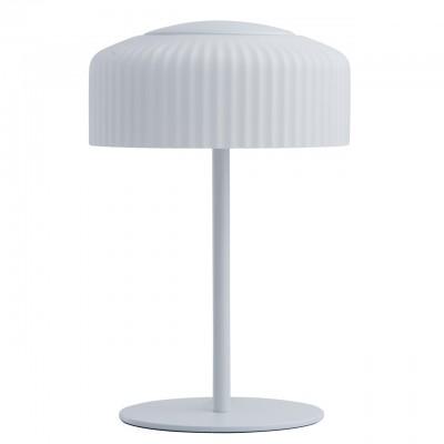 Светильник Mw-light 636031203Современные<br>636031203 - это Минималистичный дизайн, простота форм и гармония цвета отличают светильники из коллекции «Раунд». Основание из металла белого цвета дополнено белым матовым стеклянным плафоном. Его оригинальная рельефная форма придает дизайну особую изюминку. Светильник обеспечивает мягкое распределение света, благодаря чему в комнате воцарится уютная атмосфера.<br><br>S освещ. до, м2: 3,77<br>Тип товара: Настольная лампа<br>Тип лампы: LED - светодиодная<br>Тип цоколя: LED<br>Количество ламп: 3<br>MAX мощность ламп, Вт: 4<br>Диаметр, мм мм: 225<br>Высота, мм: 350