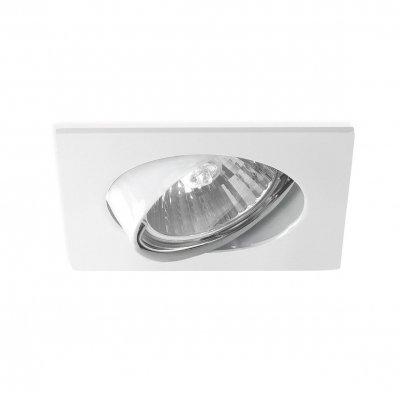 Светильник Mw light 637010501 КрузКвадратные<br>Описание модели 637010501: Идеальные светильники для акцентного освещения из коллекции Круз стиля Техно. Точечные светильники выполняют важную функциональную задачу и гармонично вписываются в различные интерьеры жилых и нежилых помещений современного стиля. Металлический корпус с различным типом обработки и покрытия поверхности создан с использованием подвижного механизма с эффектом прожектора. Галогеновая лампа с цоколем GU10 имеет высокие показатели яркости и осветит пространство до 3-х кв.м.<br><br>S освещ. до, м2: 3<br>Рекомендуемые колбы ламп: полусферическа с рефлектором<br>Цветовая t, К: 2800-3200 K<br>Тип лампы: галогенная<br>Тип цоколя: GU10<br>Ширина, мм: 80<br>MAX мощность ламп, Вт: 50<br>Длина, мм: 80<br>Высота, мм: 20<br>Поверхность арматуры: матовый<br>Цвет арматуры: белый<br>Общая мощность, Вт: 50