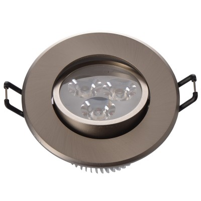 Светильник светодиодный Mw light 637012103 КрузКруглые<br>Описание модели 637012103: Разнообразная линейка встраиваемых светильников из коллекции Круз удовлетворит любые покупательские запросы. Корпус светильника выполнен из алюминия, осветительные элементы - светодиоды.  Говоря о технических характеристиках, стоит отметить, возможность самостоятельно регулировать положение внутренней части светильника, тем самым меняя направление светового потока и моделируя освещение в комнате на свой вкус. Светильники из коллекции Круз функциональны и уместны в любом интерьере, за счет разнообразия диаметров,  богатой цветовой палитры трендовых оттенков. Рекомендуемая площадь освещения одного встраиваемого светильника Круз порядка 1 кв.м.<br><br>S освещ. до, м2: 1<br>Диаметр, мм мм: 90<br>Высота, мм: 52