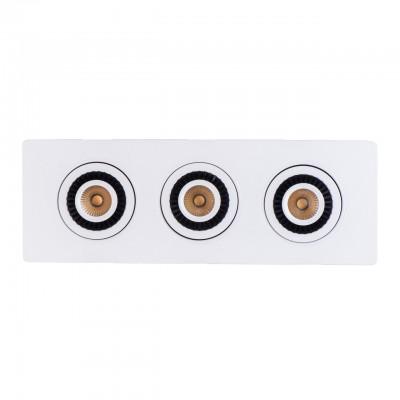 Светильник Mw-light 637016003Карданные светильники<br><br><br>Цветовая t, К: 3000<br>Тип лампы: LED<br>Тип цоколя: LED<br>Цвет арматуры: белый<br>Количество ламп: 3<br>Ширина, мм: 340<br>Длина, мм: 120<br>Высота, мм: 40<br>MAX мощность ламп, Вт: 7