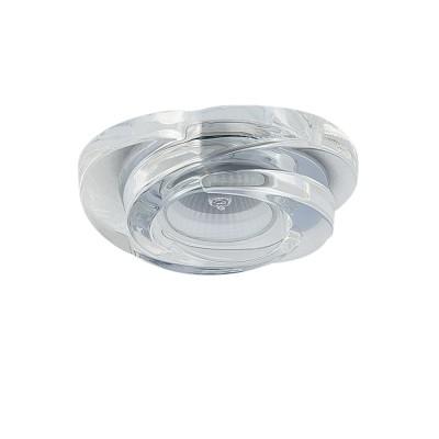 Lightstar SPIRA 6400 СветильникДекоративные<br>Встраиваемые светильники – популярное осветительное оборудование, которое можно использовать в качестве основного источника или в дополнение к люстре. Они позволяют создать нужную атмосферу атмосферу и привнести в интерьер уют и комфорт. <br> Интернет-магазин «Светодом» предлагает стильный встраиваемый светильник Lightstar 6400. Данная модель достаточно универсальна, поэтому подойдет практически под любой интерьер. Перед покупкой не забудьте ознакомиться с техническими параметрами, чтобы узнать тип цоколя, площадь освещения и другие важные характеристики. <br> Приобрести встраиваемый светильник Lightstar 6400 в нашем онлайн-магазине Вы можете либо с помощью «Корзины», либо по контактным номерам. Мы развозим заказы по Москве, Екатеринбургу и остальным российским городам.<br><br>Тип лампы: галогенная/LED<br>Тип цоколя: Gu5.3 MR16<br>Цвет арматуры: серебристый<br>Количество ламп: 1<br>Диаметр, мм мм: 105<br>Размеры: H 35 W 100x100 Диаметр врезного отверстия 55 Высота встраиваемой части 22<br>Оттенок (цвет): прозрачный<br>MAX мощность ламп, Вт: 50
