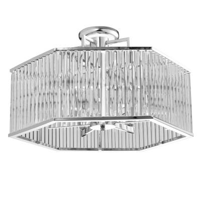 Светильник Mw-light 642010506Потолочные<br><br><br>S освещ. до, м2: 12<br>Тип лампы: накаливания / энергосбережения / LED-светодиодная<br>Тип цоколя: E14<br>Цвет арматуры: серебристый<br>Количество ламп: 6<br>Диаметр, мм мм: 575<br>Высота, мм: 1200