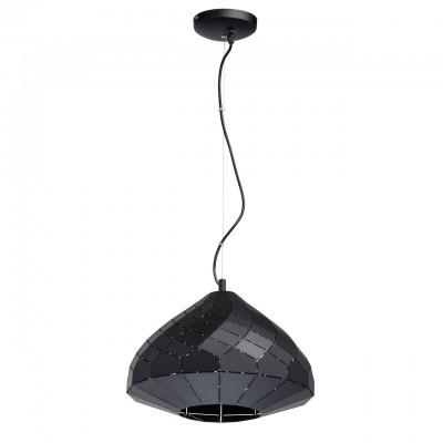 Mw light 643011701 ЛюстраПодвесные<br><br><br>Установка на натяжной потолок: Да<br>S освещ. до, м2: 3<br>Тип лампы: Накаливания / энергосбережения / светодиодная<br>Тип цоколя: E27<br>Цвет арматуры: черный<br>Количество ламп: 1<br>Диаметр, мм мм: 350<br>Высота, мм: 1500<br>MAX мощность ламп, Вт: 60