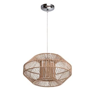 Mw light 645010701 ЛюстраПодвесные<br><br><br>Установка на натяжной потолок: Да<br>S освещ. до, м2: 3<br>Тип лампы: Накаливания / энергосбережения / светодиодная<br>Тип цоколя: E27<br>Цвет арматуры: серебристый<br>Количество ламп: 1<br>Диаметр, мм мм: 400<br>Высота, мм: 1420<br>MAX мощность ламп, Вт: 60
