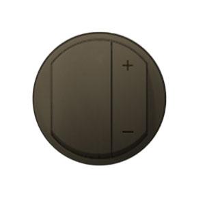 Накладка для светорегулятора нажимного графит Celiane (Legrand) 64950Графит <br><br><br>Оттенок (цвет): серый