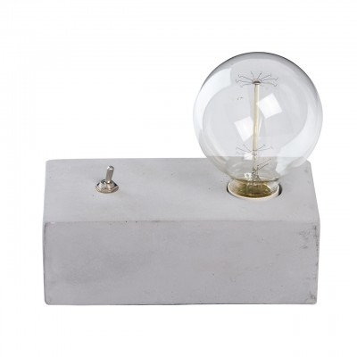 654031301 RegenBogen Светильникнастольные лампы лофт<br><br><br>Тип лампы: Накаливания / энергосбережения / светодиодная<br>Тип цоколя: E27<br>Количество ламп: 1<br>Ширина, мм: 100<br>Длина, мм: 200<br>Высота, мм: 110<br>MAX мощность ламп, Вт: 60
