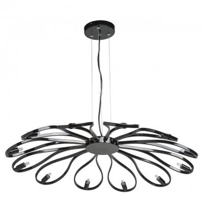 657010712 Mw light СветильникПодвесные<br><br><br>Установка на натяжной потолок: Да<br>S освещ. до, м2: 30<br>Тип лампы: галогенная/LED<br>Тип цоколя: G9<br>Количество ламп: 12<br>MAX мощность ламп, Вт: 50<br>Диаметр, мм мм: 840<br>Высота, мм: 1200