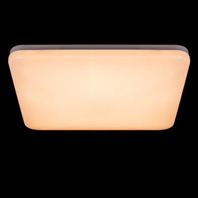 Светильник потолочный Regenbogen life 660010601 Норден/NordenКвадратные<br>Описание модели 660010601: Современный и стильный светильник из коллекции Норден создан для  освещения интерьеров в  стилях минимализм, hi-tech,техно . Его также можно использовать для создания яркой световой зоны при зонировании пространства. Металлическое основание цвета хрома в простой геометрической форме вместе с плафоном из матового акрила образуют компактный светильник потолочной  эргономичной формы. Свет от диодов яркий, но не ослепляющий, комфортного теплого оттенка, рекомендуемая площадь освещения до 16 кв.м.<br><br>S освещ. до, м2: 14<br>Тип лампы: LED<br>Тип цоколя: LED<br>Ширина, мм: 560<br>Длина, мм: 560<br>Высота, мм: 100<br>Цвет арматуры: белый