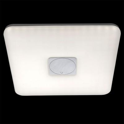 Светильник потолочный Regenbogen life 660011201 Норден/NordenКвадратные<br>Описание модели 660011201: Современный и стильный светильник из коллекции Норден создан для освещения интерьеров в стилях минимализм, hi-tech, техно . Его также можно использовать для создания яркой световой зоны при зонировании пространства. Металлическое основание цвета хрома в простой геометрической форме вместе с плафоном из матового акрила образуют компактный светильник потолочной эргономичной формы. Свет от диодов яркий, но не ослепляющий, комфортного теплого оттенка, рекомендуемая площадь освещения до 21 кв.м.<br><br>S освещ. до, м2: 20<br>Крепление: Планка<br>Тип лампы: LED<br>Тип цоколя: LED<br>Количество ламп: 400 LED<br>Ширина, мм: 570<br>MAX мощность ламп, Вт: 0.2<br>Длина, мм: 570<br>Высота, мм: 70<br>Цвет арматуры: белый