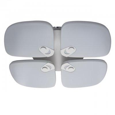 Светильник потолочный Regenbogen life 660011504 Норден/NordenДекоративные<br>Описание модели 660011504: Необычные светильники из коллекции «Норден» похожи на неземные цветы в минималистичном стиле. Матово-белые акриловые плафоны декорированы металлическими вставками, окрашенными в тон. Функциональность и практичность светодиодных ламп — удачное решение для интерьеров в стиле high-tech и techno. Дистанционное управление и диммерное регулирование температуры света и яркости весьма практично и просто в использовании. «Норден» охватывает диапазон от высокой освещенности до режима ночника. Рекомендуемая площадь освещения до 33 кв.м.<br><br>S освещ. до, м2: 27<br>Крепление: Планка<br>Тип лампы: LED<br>Тип цоколя: LED<br>Цвет арматуры: белый<br>Количество ламп: 4<br>Ширина, мм: 700<br>Длина, мм: 800<br>Высота, мм: 130<br>MAX мощность ламп, Вт: 100