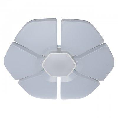 Светильник потолочный Regenbogen life 660011606 Норден/NordenПотолочные<br>Описание модели 660011606: Необычные светильники из коллекции «Норден» похожи на неземные цветы в минималистичном стиле. Матово-белые акриловые плафоны декорированы металлическими вставками, окрашенными в тон. Функциональность и практичность светодиодных ламп — удачное решение для интерьеров в стиле high-tech и techno. Дистанционное управление и диммерное регулирование температуры света и яркости весьма практично и просто в использовании. «Норден» охватывает диапазон от высокой освещенности до режима ночника. Рекомендуемая площадь освещения до 33 кв.м.<br><br>Установка на натяжной потолок: Да<br>S освещ. до, м2: 32<br>Крепление: Планка<br>Тип лампы: LED<br>Тип цоколя: LED<br>Цвет арматуры: белый<br>Диаметр, мм мм: 800<br>Высота, мм: 80