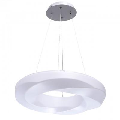 660012701 Mw light СветильникПодвесные<br><br><br>Установка на натяжной потолок: Да<br>S освещ. до, м2: 12<br>Тип лампы: LED<br>Тип цоколя: LED<br>Диаметр, мм мм: 480<br>Высота, мм: 1130<br>MAX мощность ламп, Вт: 30