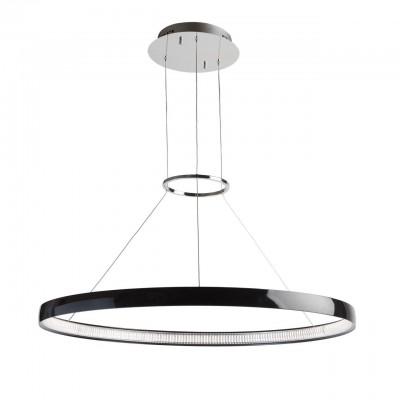 Светильник Regenbogen life 661010201Подвесные<br><br><br>Тип лампы: LED<br>Тип цоколя: LED<br>MAX мощность ламп, Вт: 40<br>Диаметр, мм мм: 800<br>Высота, мм: 450 - 1350<br>Цвет арматуры: черный