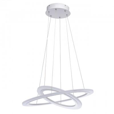 661014802 RegenBogen СветильникПодвесные<br><br><br>Установка на натяжной потолок: Да<br>S освещ. до, м2: 25<br>Тип лампы: LED<br>Тип цоколя: LED<br>Диаметр, мм мм: 600<br>Высота, мм: 70 - 1520