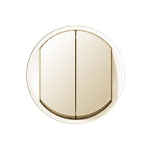Клавиша для выключателя/переключателя 2 клавишного слоновая кость Celiane (Legrand) 66201Cлоновая кость <br><br><br>Оттенок (цвет): Бежевый