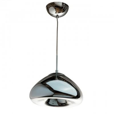 Светильник Regenbogen life 663010401Одиночные<br><br><br>Тип цоколя: LED<br>MAX мощность ламп, Вт: 60<br>Диаметр, мм мм: 300<br>Высота, мм: 370 - 1320<br>Цвет арматуры: серебристый хром