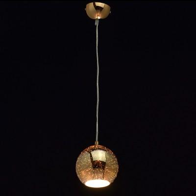 Mw light 663011101 СветильникОдиночные<br><br><br>S освещ. до, м2: 2<br>Тип лампы: Накаливания / энергосбережения / светодиодная<br>Тип цоколя: E27<br>Цвет арматуры: золотой<br>Количество ламп: 1<br>Диаметр, мм мм: 140<br>Высота, мм: 200 - 2400<br>MAX мощность ламп, Вт: 40