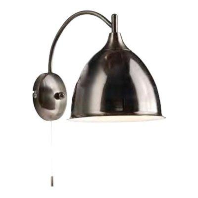Светильник бра Brilliant 66411/43 EnzioХай-тек<br>Зачастую мы ищем идеальное освещение для своего дома и уделяем этому достаточно много времени. Так, например, если нам нужен светильник с количеством ламп - 1 и цвет плафонов должен быть - черный, а материал плафонов только металл! То нам, как вариант, подойдет модель - Бра Brilliant 66411/43.<br><br>S освещ. до, м2: 2<br>Тип товара: Светильник настенно-потолочный<br>Тип лампы: накаливания / энергосбережения / LED-светодиодная<br>Тип цоколя: E14<br>Количество ламп: 1<br>Ширина, мм: 120<br>MAX мощность ламп, Вт: 40<br>Диаметр, мм мм: 220<br>Выступ, мм: 180<br>Высота, мм: 250<br>Цвет арматуры: черный