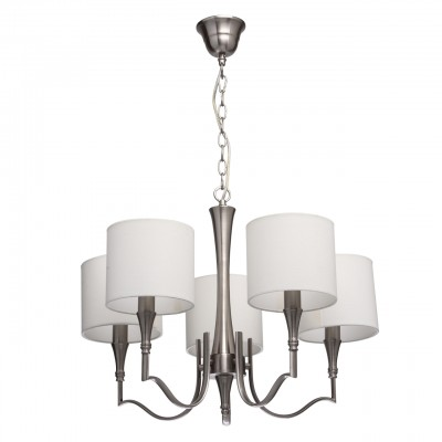 Mw light 667011105 СветильникПодвесные<br><br><br>Установка на натяжной потолок: Да<br>S освещ. до, м2: 10<br>Тип лампы: Накаливания / энергосбережения / светодиодная<br>Тип цоколя: E14<br>Количество ламп: 5<br>MAX мощность ламп, Вт: 40<br>Диаметр, мм мм: 600<br>Высота, мм: 590 - 830