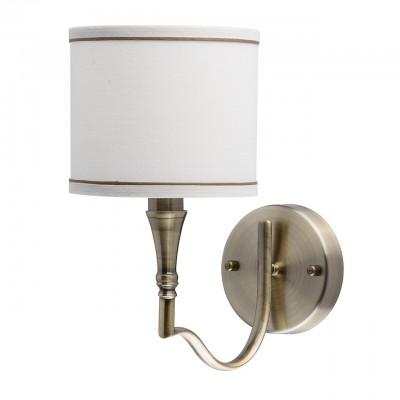 Mw light Конрад 667021201 Светильник браСовременные<br><br><br>Тип лампы: Накаливания / энергосбережения / светодиодная<br>Тип цоколя: E14<br>Цвет арматуры: бронзовый<br>Количество ламп: 1<br>Ширина, мм: 160<br>Расстояние от стены, мм: 280<br>Высота, мм: 260<br>MAX мощность ламп, Вт: 60
