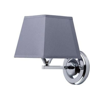 Mw light Конрад 667021501 Светильник браСовременные<br><br><br>Тип лампы: Накаливания / энергосбережения / светодиодная<br>Тип цоколя: E27<br>Цвет арматуры: серебристый<br>Количество ламп: 1<br>Длина, мм: 190<br>Высота, мм: 190<br>MAX мощность ламп, Вт: 60