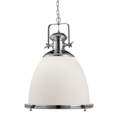 Светильник Divinare 6678/12 SP-1одиночные подвесные светильники<br><br><br>Тип лампы: Накаливания / энергосбережения / светодиодная<br>Тип цоколя: E27<br>Цвет арматуры: серебристый<br>Количество ламп: 1<br>Диаметр, мм мм: 490<br>Высота, мм: 570 - 1970<br>MAX мощность ламп, Вт: 60
