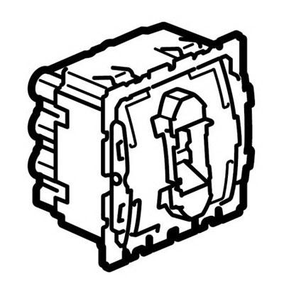 Механизм проходного переключателя 1 клавишного 10 А Celiane (Legrand) 67006Механизмы <br><br>