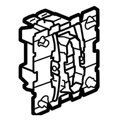 Механизм выключателя/переключателя 1 клавишного 10 А Celiane (Legrand) 67001Механизмы <br><br>