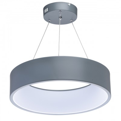 Mw light Ривз 674011301 ЛюстраПодвесные<br><br><br>S освещ. до, м2: 16<br>Тип лампы: LED<br>Тип цоколя: LED<br>Количество ламп: 1<br>MAX мощность ламп, Вт: 40<br>Диаметр, мм мм: 450<br>Высота, мм: 150 - 1230
