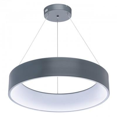 Mw light Ривз 674011401 ЛюстраПодвесные<br><br><br>S освещ. до, м2: 24<br>Тип лампы: LED<br>Тип цоколя: LED<br>Количество ламп: 1<br>MAX мощность ламп, Вт: 60<br>Диаметр, мм мм: 600<br>Высота, мм: 120 - 1200