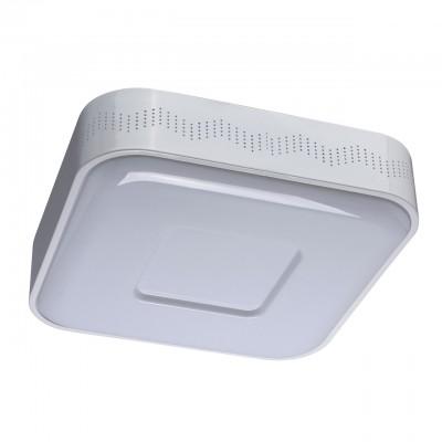 Светильник Mw-light 674012101Квадратные<br>674012101 - это Минимализм, простота, стиль – все эти качества сочетает в себе потолочный светильник из коллекции «Техно». Белое металлическое основание с перфорацией украшено декоративной вставкой из акрила белого цвета. Помимо этого, люстра прекрасно оснащена технически: она имеет несколько режимов освещения. Также можно легко менять температуру света, создавая нужную атмосферу в интерьере.<br><br>S освещ. до, м2: 11<br>Тип лампы: LED - светодиодная<br>Тип цоколя: LED<br>Количество ламп: 30<br>Диаметр, мм мм: 460<br>Высота, мм: 100